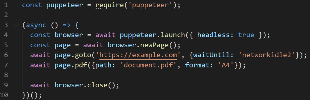 puppeteer source code